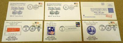Collection of 22c Stamp USA Envelopes 6qty