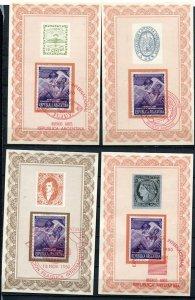 Argentina 1950 8 Postal eventcard Int. Philatel EXPO a1827s