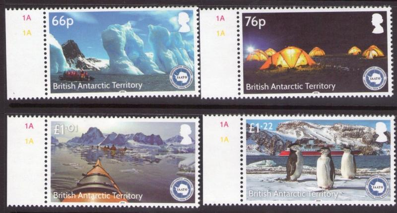 British Antarctic Territory IAATO set  MNH