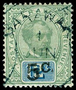 SARAWAK-a-Pre 1900 (to 47) 24  Used (ID # 65173)