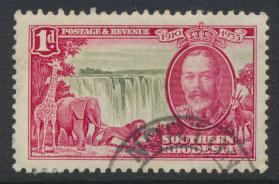 Southern Rhodesia SG 31  SC# 33  used  see scan and details