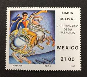 Mexico 1983 #1322, Simon Bolivar, MNH.