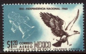MEXICO C251, $1.20P Sesquicent Mexican Independence. UNUSED, H OG. VF.