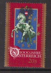 Austria    #B1710j  MNH  1996  Austria millennium  20s  Europe