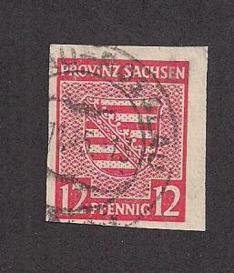GERMANY - DDR SC# 13N7a F-VF U 1945 Impf.