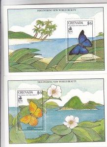 Grenada: Sc #1818-1819, S/S, MNH (S18201)