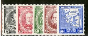 CHILE 237-237 MNH SCV $3.10 BIN $1.55 PEOPLE