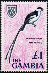 Gambia. 1966 £1 S.G.245 Unmounted Mint