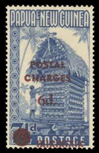 Papua New Guinea Scott J6 Gibbons D1 Mint Stamp