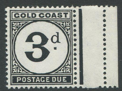 Gold Coast J6 Mint NH with right margin. $1 combined shipping