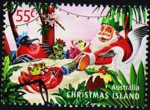 Christmas Island. 2011 55c Fine Used
