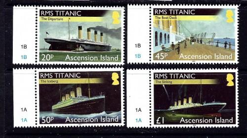 Ascension 1055-58 NH 2012 Titantic set