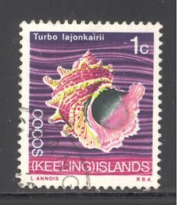 Cocos Islands 8 used (DT)