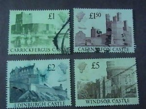 GREAT BRITAIN # 1230-1233-USED-----COMPLETE SET------1988
