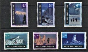 STAMP STATION PERTH Ross Dependency #L37-L42 Landscapes Set  MNH CV$12.00