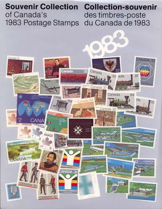 Annual Souvenir Collection The Postage Stamps of Canada 1983 - USC AC#26