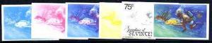 St Vincent - Grenadines 1985 Tourism Watersports 75c (Scu...