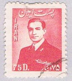 Iran Shah Pahlavi 75D - pickastamp (AP102219)