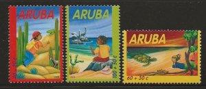 ARUBA  SC #  B67 - 9  MNH