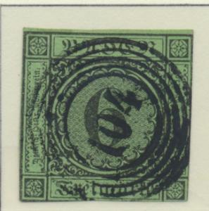 Baden (German State) Stamp Scott #3, Used, 104 Cancel - Free U.S. Shipping,...