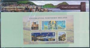Great Britain Northern Ireland stamp National Day block MNH 2008 Mi 1 WS151525