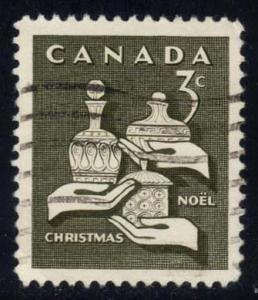 Canada #443 Gifts of the Three Wise Men, used (0.25)