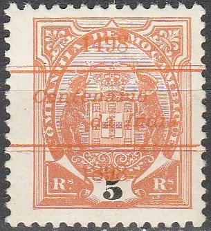Mozambique Company #46  F-VF Unused CV $7.00 (A15043)
