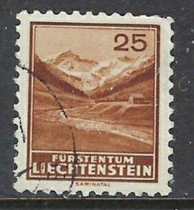 Liechtenstein 121 Used 1934 issue (ap7291)