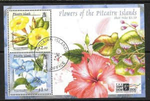 PITCAIRN ISLANDS SGMS576 2000 STAMP SHOW 2000 FINE USED