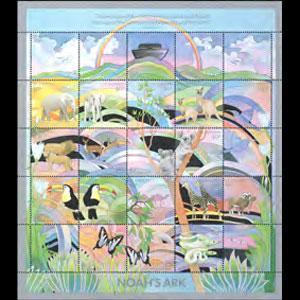 ST.VINCENT 1989 - Scott# 1152 Sheet-Noah Ark NH