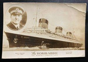1935 Union City NJ USA Picture Postcard Return Voyage Cover To Switzerland