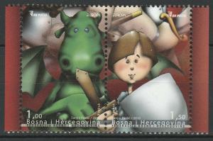 Bosnia and Herzegovina 2010 CEPT Europa 2 MNH stamps