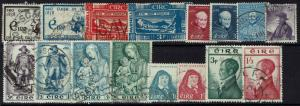Ireland 16 Better, Used Stamps -  Lot 112916