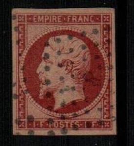 France Scott 21 Used VF (Catalog Value $3250.00)