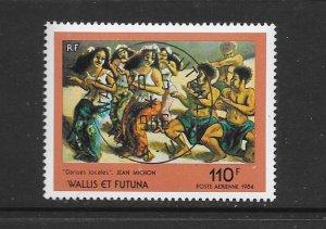 WALLIS & FUTUNA #C137  ART-LOCAL DANCES  CANCELLED