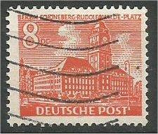 BERLIN, 1949, used 8pf  Schoeneberg Scott 9N46