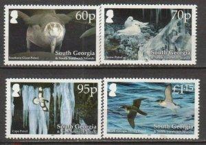 South Georgia 2011 birds set MNH