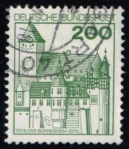 Germany #1240A Bürresheim Castle; Used (0.75)