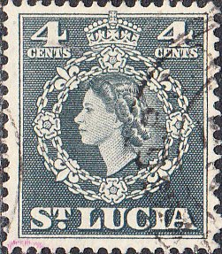 St. Lucia    #160    Used