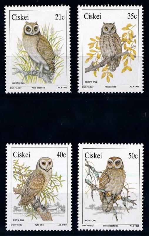 [66051] Ciskei 1991 Birds Owls  MLH