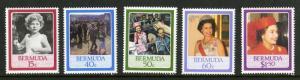Bermuda 499-503 MNH SCV $4.65 BIN $2.50 Royalty