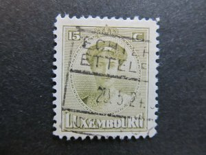A4P26F47 Letzebuerg Luxembourg 1921-26 15c used