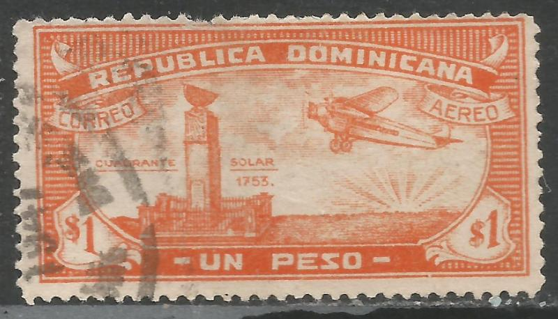 DOMINICAN REPUBLIC C17 VFU Z2190