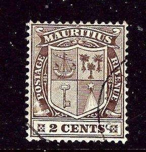 Mauritius 129 Used 1905 issue    (ap3158)