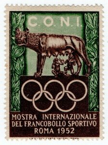 (I.B) Italy Cinderella : Olympic Games (Rome 1952)