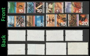 Hong Kong Definitive 10c 20c $1.4 $2 $3 $5 $10 $20 (8 stamps) used 2002