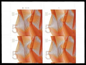 PCBstamps      US #4719 PB $20.00(4x$5.00)Wave, (S111111), MNH, UL