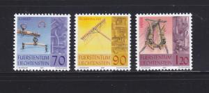 Liechtenstein 1215-1217 Set MNH Tools