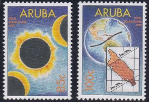 Aruba 160-161 MNH (1998)