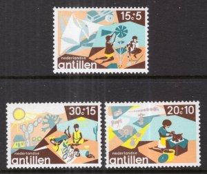 Netherlands Antilles B137-B139 MNH VF